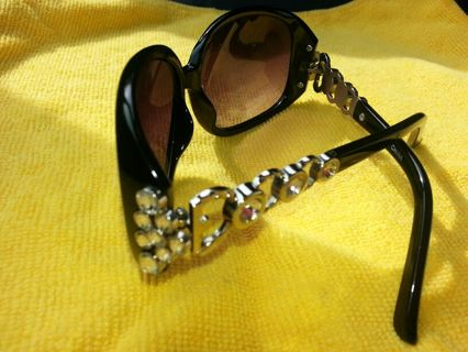 Designer Rhinestone Sunglasses