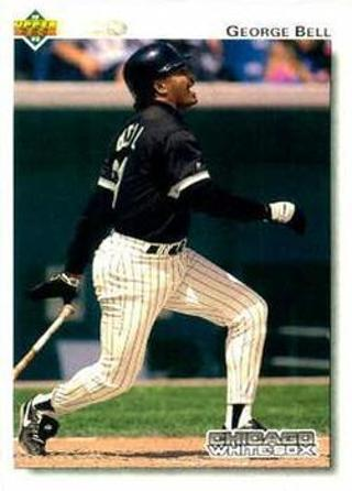 Free 1992 Upper Deck George Bell Baseball Card Sports