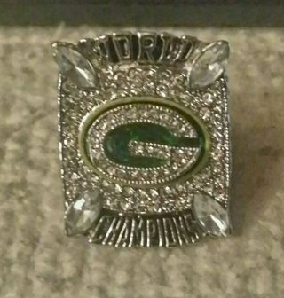 2010 GREEN BAY PACKERS SUPER BOWL XLV WORLD CHAMPIONSHIP RING AARON RODGERS REPLICA RING
