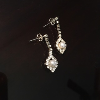ICING Pearl Earrings Costume