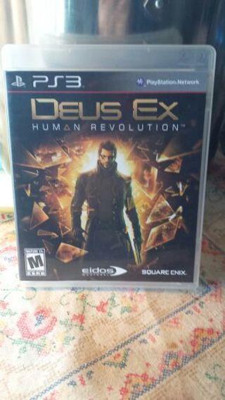 Deus Ex Human Revolution PS3 (See photos)