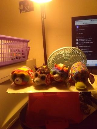 Set Of 4 McDonalds TY  Mini Beanie Babies
