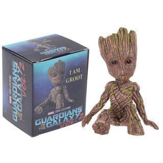 """Cute 2"""" Guardians of The Galaxy Vol. 2 Baby Groot Figure Toy Gift"""