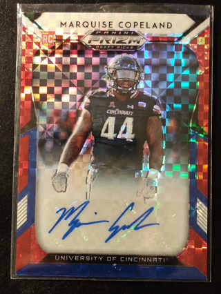 Marquise Copeland rc auto Red white blue/99