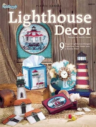 Free Lighthouse Decor Plastic Canvas Pattern Book Needlecraft Mesmerizing Plastic Canvas Pattern Books