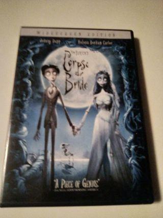 DVD - TIM BURTON'S CORPSE BRIDE