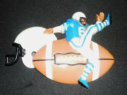 Vintage Football Player's Wall Hanging Sport Plaque