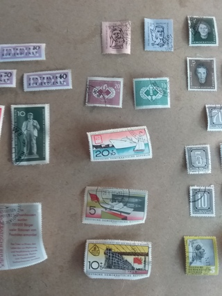 197# Mixed Stamp Lot