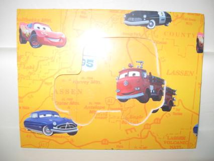 Free: NEW Disney PIXAR CARS Picture Photo Frame Lightning McQueen ...