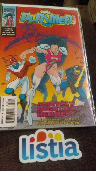 Plasmer (comic book)