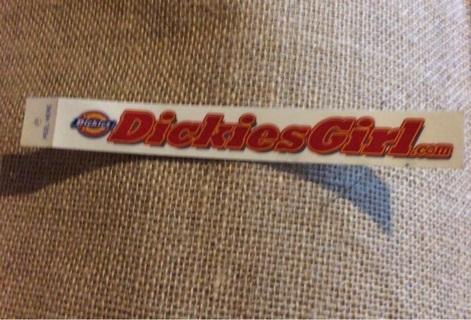 Dickies Girl sticker