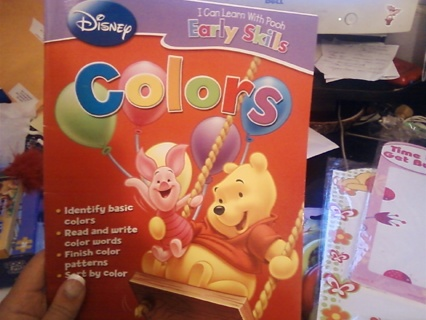Winnie The Pooh Brand New Coloring Book