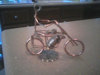 Harley Davidson type Art Sculpture