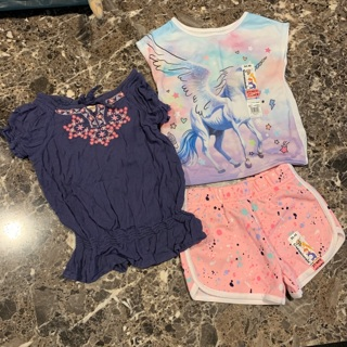 New little girls clothes 2t &3t for spring & summer