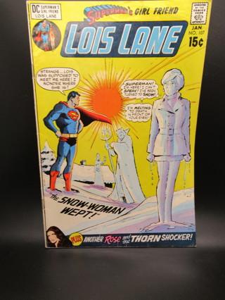 SUPERMAN'S GIRLFRIEND LOIS LANE NO.107