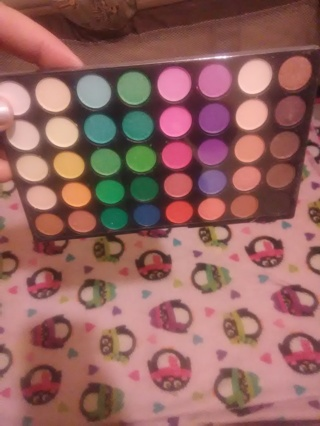 Eyeshadow Palette Makeup 40 Color Cream Eye Shadow Matte Shimmer Set Cosmetic  ***USA SHIPPER***