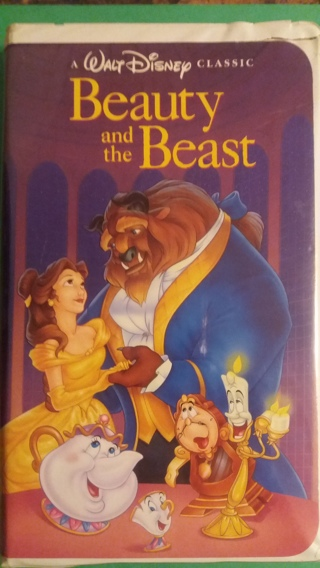 VHS movie  disney  beauty and the beast  free shipping