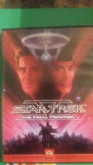 dvd star trek the final frontier  frees hipping