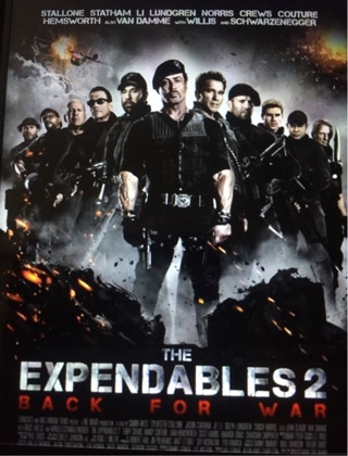 The Expendables 2 HD digital copy