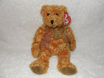 40a1d0d6fb7 FREE  TY Beanie Babies Roosevelt Teddy Celebrating 100 years of Teddy Bears  1902-2002