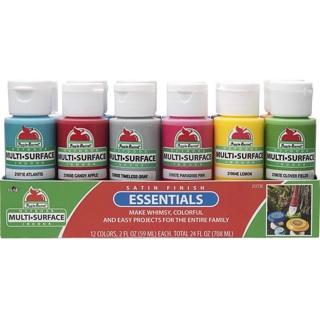 Set of 12 Apple Barrel Essentials Paint