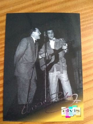 Elvis Presley Platinum Trading Card