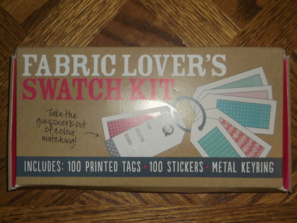 Fabric Lover's Swatch Kit-great for quilters!