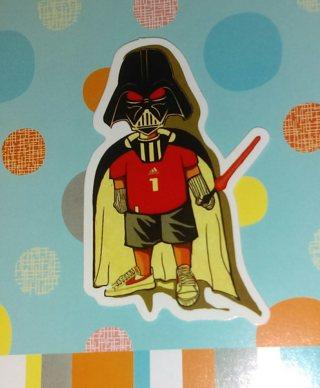 KIds Love Darth Vader DECAL STICKER STAR WARS