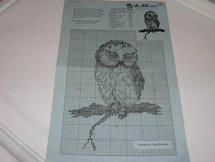 Free Owl Cross Stitch Pattern Needlecraft Listia Com