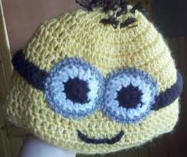 Free Minion Hat Knitting Pattern Knitting Listia Auctions