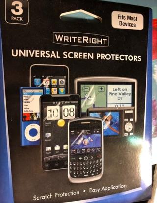Universal Screen Protectors