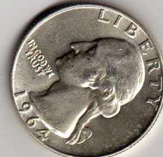 Silver Quarters 1964