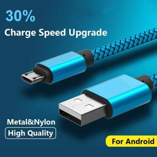 Long Fast Charging MICRO USB Cable for Samsung Galaxy S7 Edge/A6 Plus J6 J4 J8
