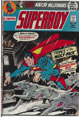 Superboy #180 Prince of The Wolf-Pack 48 page