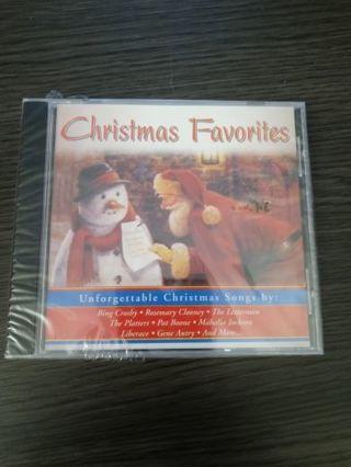 Christmas favorites CD sealed