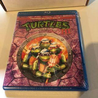 new!blu-ray-tenage mutant ninga turtles 3-turtles in time-pg