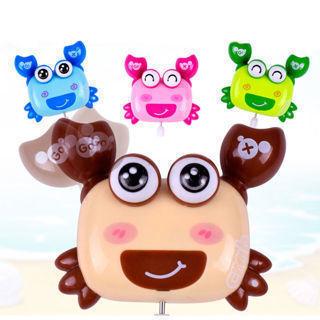Cartoon Plastic Crab Shape Clockwork Toy Wind Up Walking Toy Children Kids Gift
