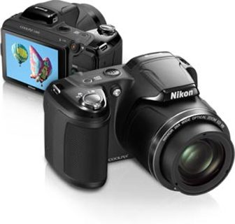 Nikon COOLPIX L810 16.1 MP Digital Camera 26x Zoom NIKKOR ED Glass Lens 3-inch LCD + CASE & STRAP