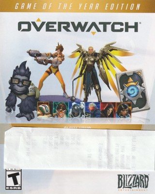 free overwatch game of the year edition digital goodies code