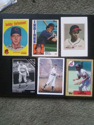 '60's-90's Cleveland Indians (Cy Young, Carter, Butler, Paige & More)