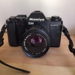 Mamiya 35mm Camera with 50mm lens