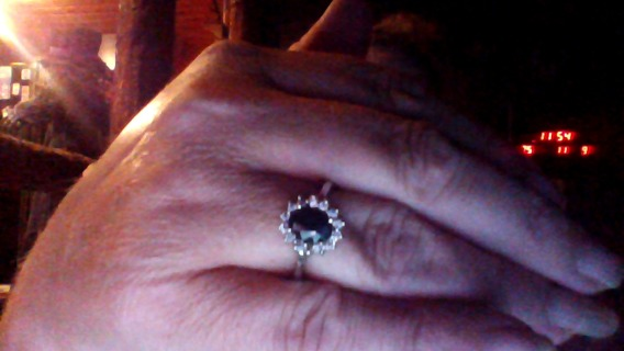 princess Katie replica wedding ring