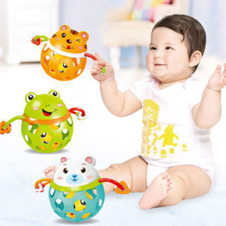 Toys Animal Shape Musical Educational Toy Bed Bell Hand Shaking Rattles Toy