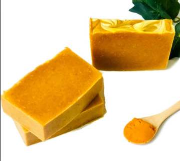 RECIPE FOR TUMERIC AND OTHER INGREDIENTS SOAP TO HELP ECZEMA