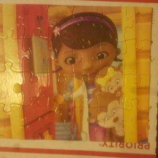 20 piece Doc McStuffins puzzle  free shipping