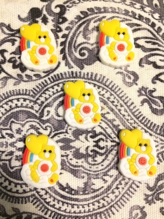 Kawaii Care bear soft cabs