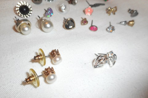 Lot 70+ Jewelry Earrings Nun's Estate Find! Plus Bonus Pieces - Misc Jewelry!