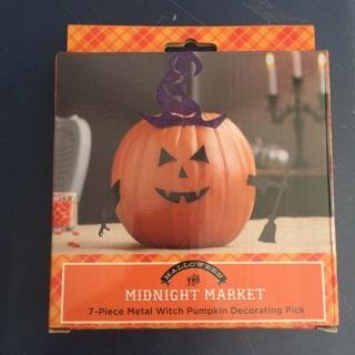 Halloween Pumpkin Decorating Kit - Witch *** New***