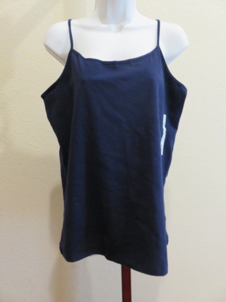 Ladies Sexy Camisole Cami Navy Blue Size XL (16-18) New with Tags