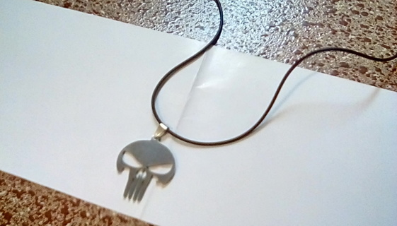 Punisher Pendant Necklace